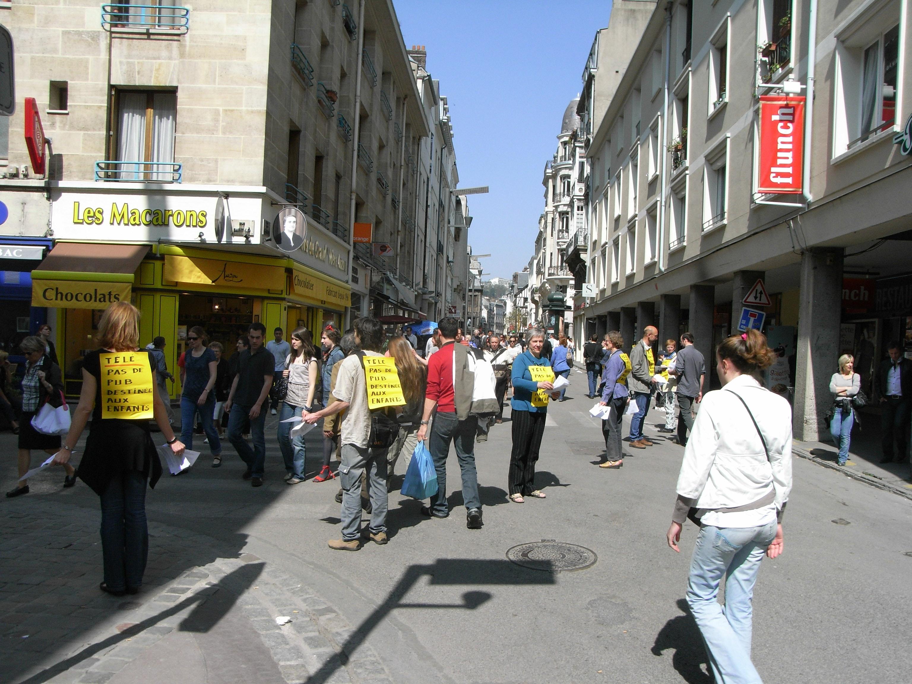 04242010, Rouen, Heure de silence Télé, pas de pub