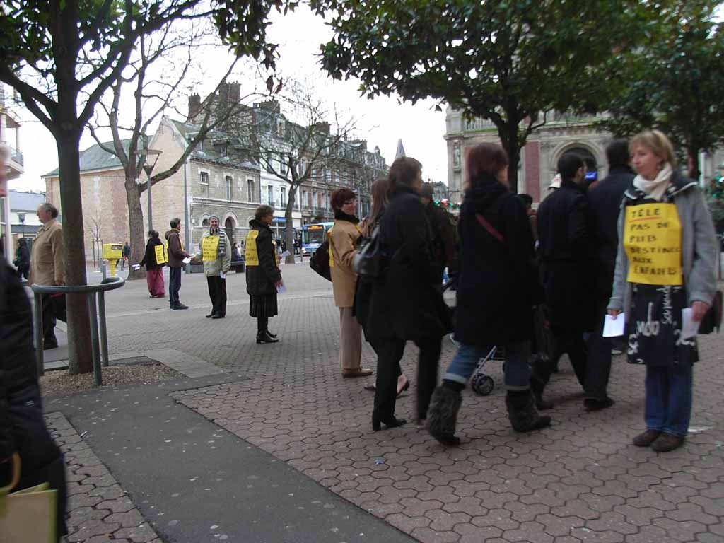 15112008, Rouen, Heure de silence Télé, pas de pub